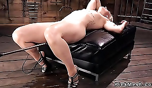 Mart has blasting orgasms on fucking machine