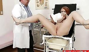 Redhead Samantha plaid by anomalous gyno alloy