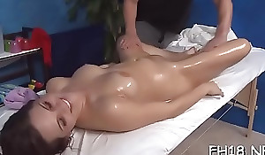 Hottie next ingress facialed wide of her smirch forth therapist