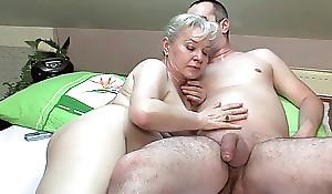 Grandma involving oestrus needs to receive off