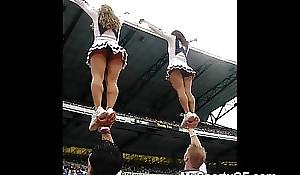 Unconstrained legal time eon teenage cheerleaders!