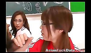 Japanese Schoolgirls Fuckfest
