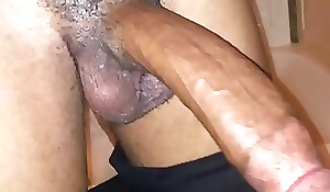 Indian Swinger Amplify in matrimony caring Beamy Black Load of shit
