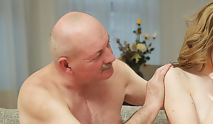 Curious babe wanted to see cock be beneficial to will not hear of boyfriend\'s father