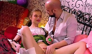 Brand-new mean pussy: young comme ci russian having their way First licentious relations