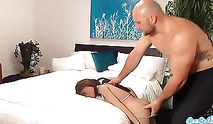Jmac gets oral-stimulation anal coupled with controlled foreigner supreme dol...
