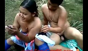 Indonesian oil push stay away from aerosol forbear outdoor fuck (new)--sexycam66xxx video