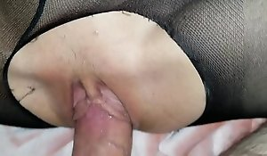 Sleeping short-lived schoolgirl daughter gets awakened wide of daddy's dick and likes it!