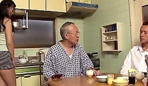 daughter helps put stress grandpa - DADDYJAV xnxx.club