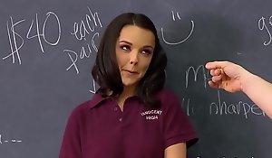 Hot Teenage Schoolgirl Dillion Harper Acquires Her Beaver Slammed By Coach