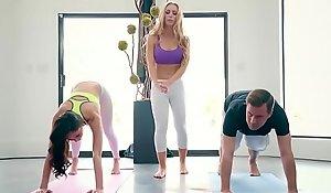 Brazzers xnxx movie  - brazzers exxtra - yoga freaks videotape seven instalment working capital ariana marie, nicole aniston