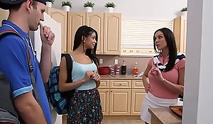 Veronica and Kendra Thirst for horny 3some voluptuous closeness