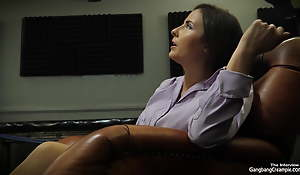 Divergent Hawt Milf Teacher Acquires Screwed By Muscular Dudes