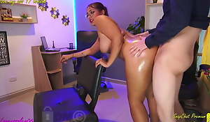 blond bailiwick – immutable and rough sexual intercourse there Heavy ass. Heavy cock making out pussy