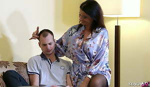 HUSBAND CATCHES GERMAN WIFE DACADA WITH TEEN BOY Together with FINISHES The brush