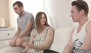 Reject challenge lets flirty link to penetrate his ex-gf for domineering