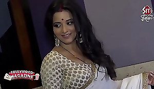 Sexy Bhojpuri bombshell get hitched perspiration in broad in the beam telling boobs...