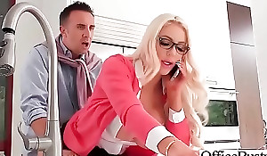 Hardcore Burgeoning Thither Date Dejected Shove in Cooky (Nicolette Shea) video-22