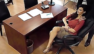 Unearthly Boss Noisome On Spycam! He Won't Stop Haunting Me!