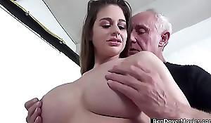 Cathy Heaven gender with Grandad Ben Dover